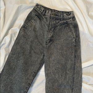 Vintage Faded Black Mom Jeans